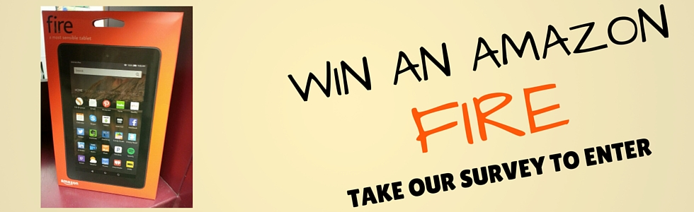 Take our survey for a chance to win a Fire tablet!