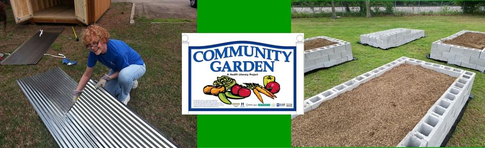 Community Garden Coming Soon!
