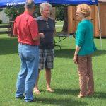 Rudy Schultz, Ben Loring, Marcia Johnson