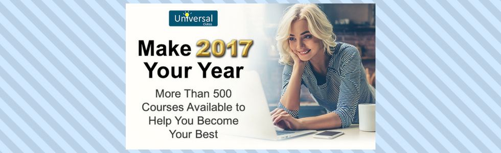 Make 2017 Your Year. More than 500 courses available to help you become your best.
