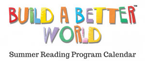 Summer Reading Program Calendar