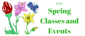 2018 Spring Classes and Programs