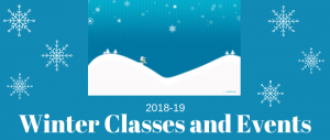 Winter Classes and Events