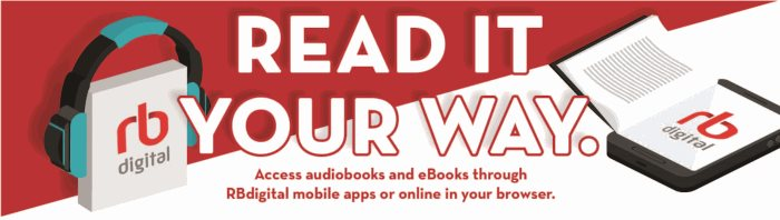 rb digital audiobooks and eBooks